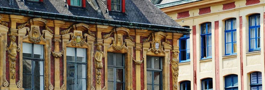 carnet de voyage Lille place de la bourse
